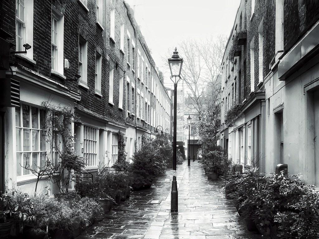Rainy Colville Place