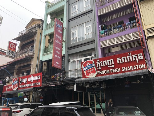 Hiltton and Sharaton, Phnom Penh.  Where's the Mariot?