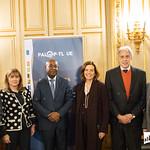 Ter, 28/01/2020 - 16:47 - Incentivar a mobilidade de estudantes do ensino superior, promover a cultura no espaço lusófono e aumentar a empregabilidade são os principais objetivos do projeto 'PROCULTURA PALOP-TL' da União Europeia (UE). No âmbito deste projeto o Politécnico de Lisboa (IPL), enquanto membro da Associação das Universidades de Língua Portuguesa (AULP), esteve presente na cerimónia de assinatura do protocolo de parceria, que decorreu no dia 28 de janeiro, na sede da Comunidade dos Países de Língua Portuguesa (CPLP), em Lisboa.