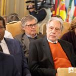 Ter, 28/01/2020 - 16:36 - Incentivar a mobilidade de estudantes do ensino superior, promover a cultura no espaço lusófono e aumentar a empregabilidade são os principais objetivos do projeto 'PROCULTURA PALOP-TL' da União Europeia (UE). No âmbito deste projeto o Politécnico de Lisboa (IPL), enquanto membro da Associação das Universidades de Língua Portuguesa (AULP), esteve presente na cerimónia de assinatura do protocolo de parceria, que decorreu no dia 28 de janeiro, na sede da Comunidade dos Países de Língua Portuguesa (CPLP), em Lisboa.