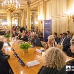 Ter, 28/01/2020 - 16:25 - Incentivar a mobilidade de estudantes do ensino superior, promover a cultura no espaço lusófono e aumentar a empregabilidade são os principais objetivos do projeto 'PROCULTURA PALOP-TL' da União Europeia (UE). No âmbito deste projeto o Politécnico de Lisboa (IPL), enquanto membro da Associação das Universidades de Língua Portuguesa (AULP), esteve presente na cerimónia de assinatura do protocolo de parceria, que decorreu no dia 28 de janeiro, na sede da Comunidade dos Países de Língua Portuguesa (CPLP), em Lisboa.