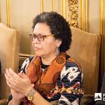 Ter, 28/01/2020 - 16:09 - Incentivar a mobilidade de estudantes do ensino superior, promover a cultura no espaço lusófono e aumentar a empregabilidade são os principais objetivos do projeto 'PROCULTURA PALOP-TL' da União Europeia (UE). No âmbito deste projeto o Politécnico de Lisboa (IPL), enquanto membro da Associação das Universidades de Língua Portuguesa (AULP), esteve presente na cerimónia de assinatura do protocolo de parceria, que decorreu no dia 28 de janeiro, na sede da Comunidade dos Países de Língua Portuguesa (CPLP), em Lisboa.