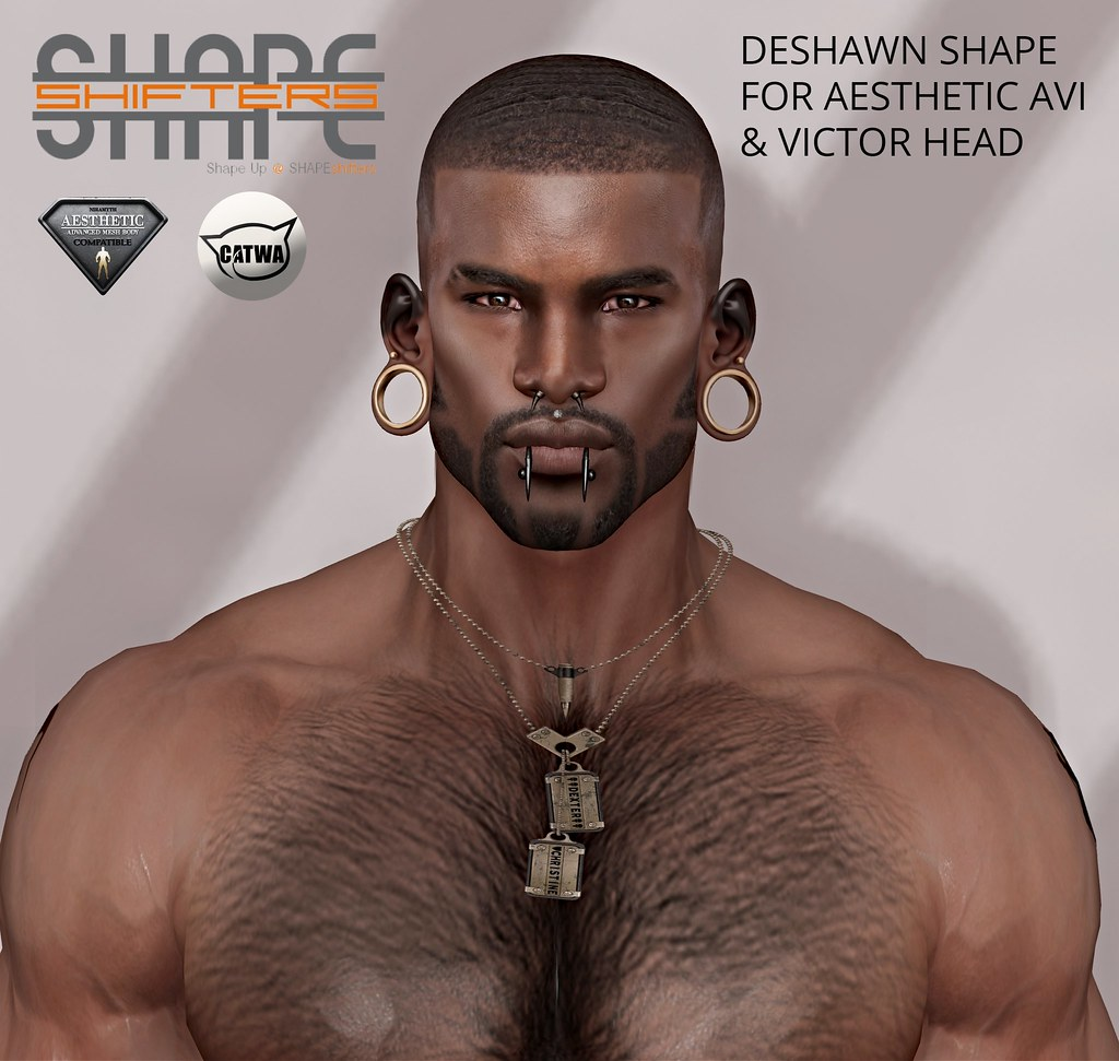 [SHAPEshifters] DESHAWN SHAPE FOR AESTHETIC BODY WITH VICTOR HEAD