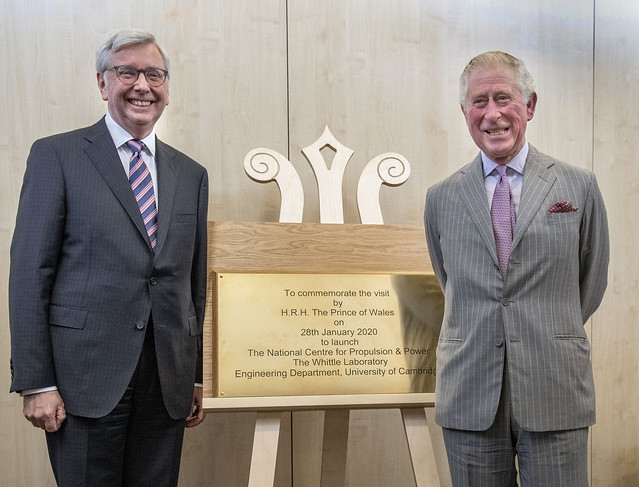 Prince of Wales launches new UK centre for low-carbon aviation
