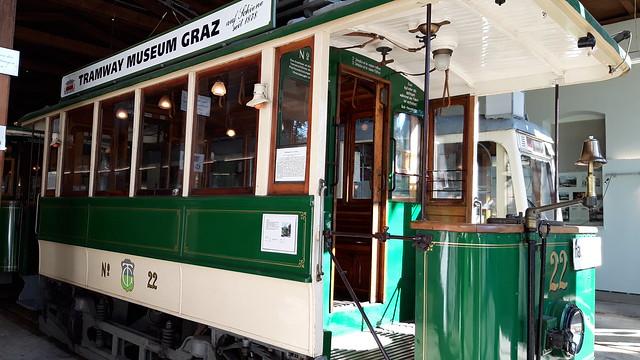 Graz Museum Tramway TW 22