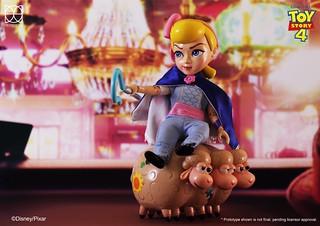 可自由切換優雅淑女與大膽奔放兩種風格! HEROCROSS H.M.F. 系列《玩具總動員》牧羊女寶貝 Bo Peep 豪華版 HMF#083