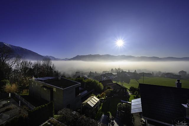 December day in Kaltbrunn - Switzerland