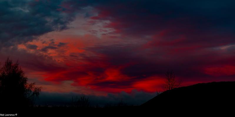Sunrise over Chesterfield 31/01/2020