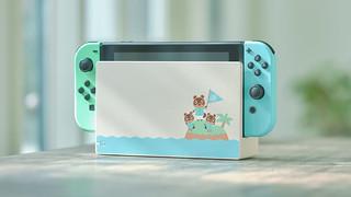 搶先日本販售!《集合啦!動物森友會》Nintendo Switch 特別設計主機和便攜包公開~2月8日起開放預訂