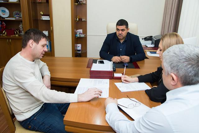 Рабочая встреча с Председателем ЦИК Гагаузии.