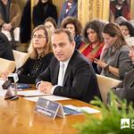 Ter, 28/01/2020 - 16:24 - Incentivar a mobilidade de estudantes do ensino superior, promover a cultura no espaço lusófono e aumentar a empregabilidade são os principais objetivos do projeto 'PROCULTURA PALOP-TL' da União Europeia (UE). No âmbito deste projeto o Politécnico de Lisboa (IPL), enquanto membro da Associação das Universidades de Língua Portuguesa (AULP), esteve presente na cerimónia de assinatura do protocolo de parceria, que decorreu no dia 28 de janeiro, na sede da Comunidade dos Países de Língua Portuguesa (CPLP), em Lisboa.