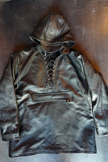 卍 CPW ORIGINAL LEATHER HOODIE卍