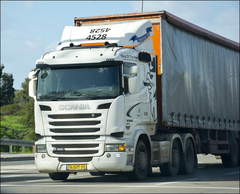 Scania R450 truck - 2020-01-31 IZE-096