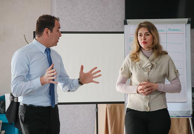 Domestic violence seminar in Kharkiv region