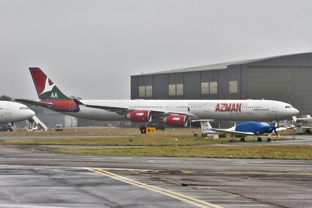 2-EALJ : Airbus A340-642 :Azman Air : ex G-VYOU