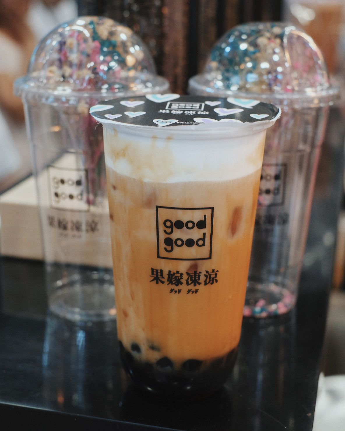 Good Good Milk Tea in Banawe, Quezon City