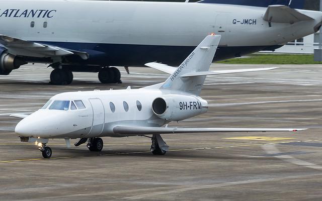 9H-FRM Dassault Falcon 100