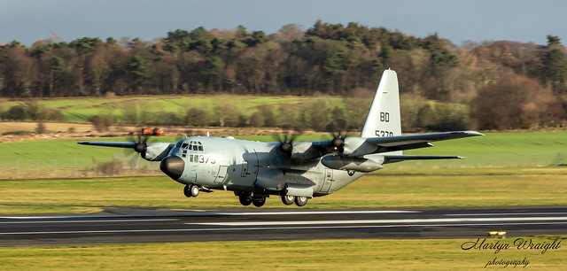 US NAVY C130 T Lockheed Hercules VR-64