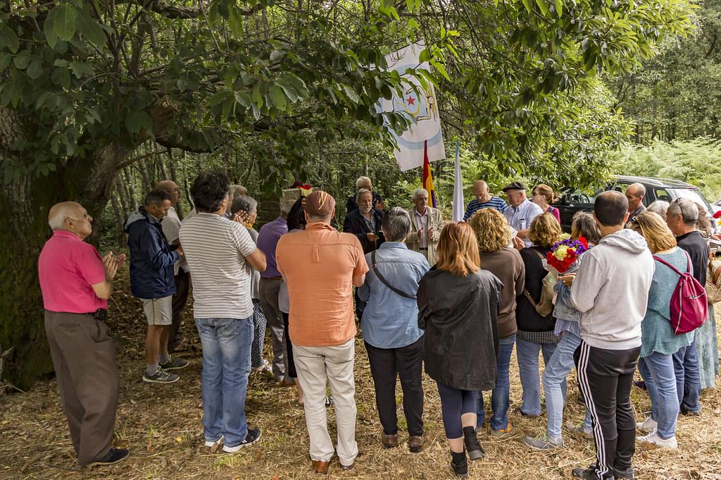 Homenaxe as víctimas da represión 2019