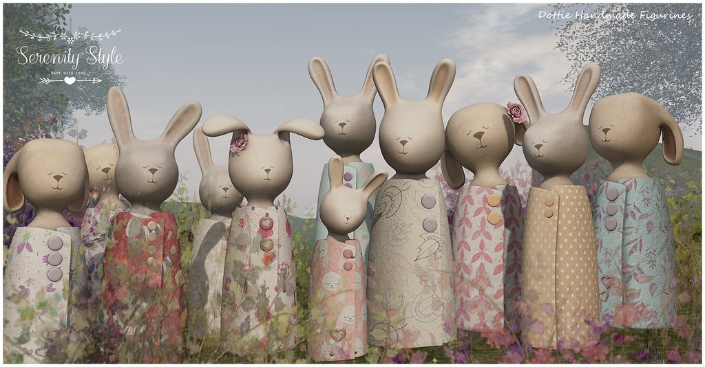 Serenity Style-Dottie Handmade Figurines