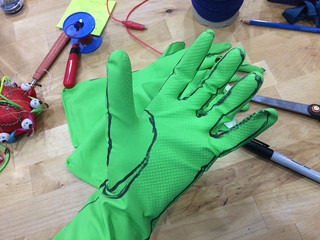 developping glove pattern