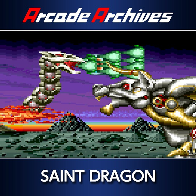 Thumbnail of Arcade Archives SAINT DRAGON on PS4
