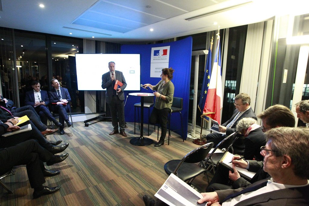 Réunion avec les représentants des directions régionales en charge du sport et des établissements publics du ministère