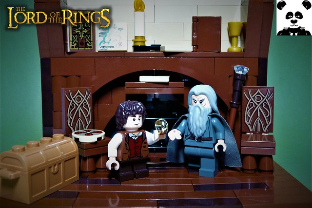 Frodo receives The One Ring
