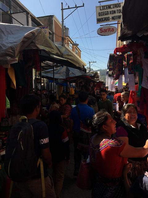 Chichicastenango vendors