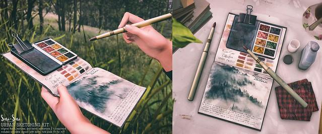 Sari-Sari - Urban Sketching Kit