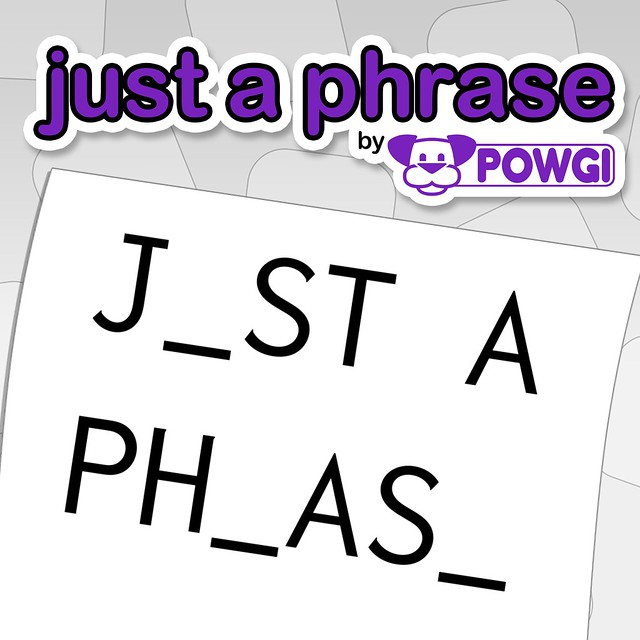 Thumbnail of Just a Phrase by POWGI on PS4