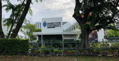 James Cook University Sims Drive Singapore