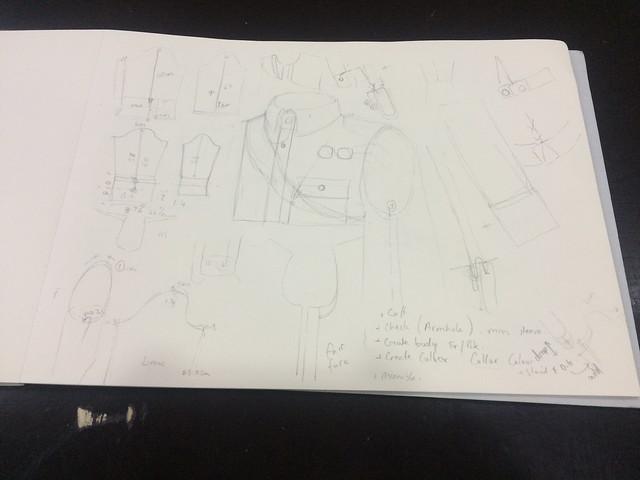 final garment pattern developments