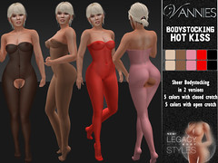 VANNIES Lingerie for Legacy: Bodystocking Hot Kiss