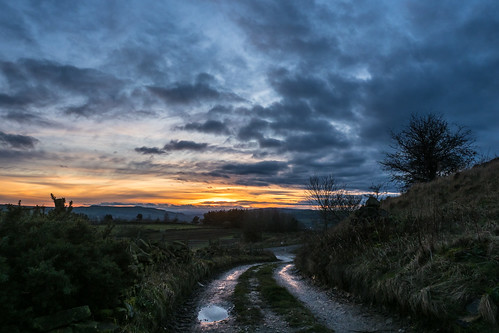 lane sunset winter glossop derbyshire highpeak uk olympus omdem1markii panasonic 1235
