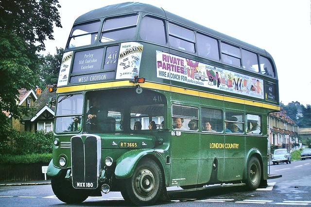 RT3665 MXX180 ---  Old Coulsdon 20-7-74