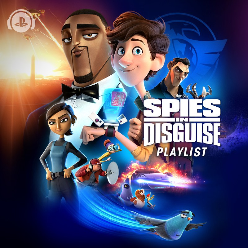 Spies in Disguise Playlist