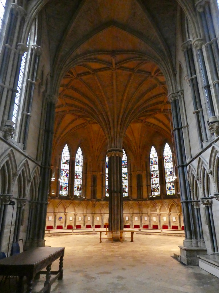 The Chapter House, Lincoln Cathedral