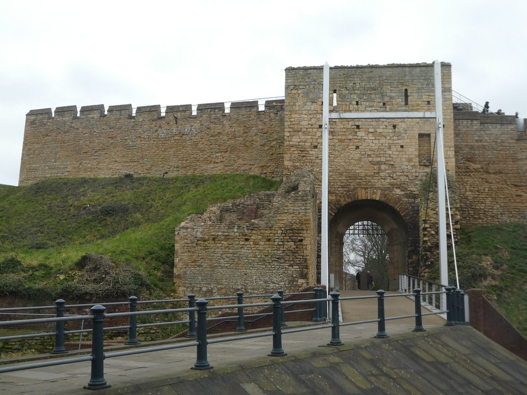Lincoln castle entrance