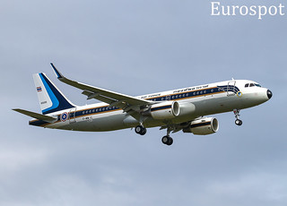 F-WWIC Airbus A320 Royal Thai Air Force, last A320 Ceo buit in Toulouse