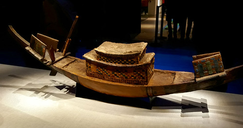 King Tut's model boat