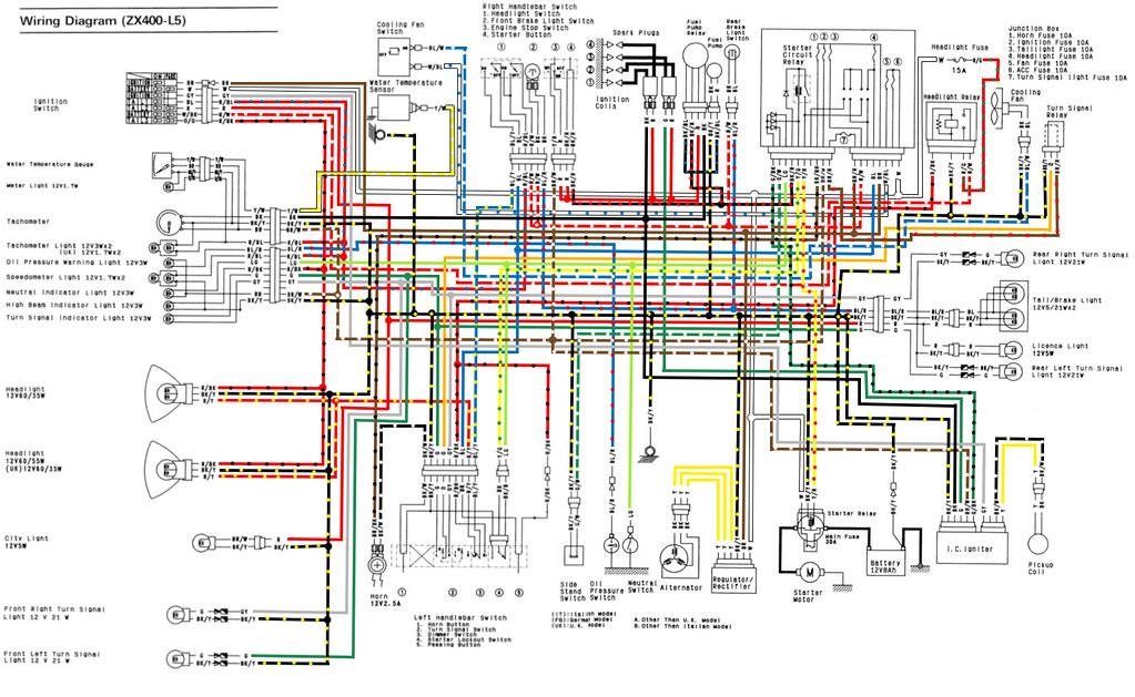 L5 Wiring Diagram  Full Colour