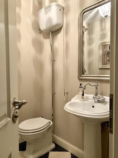 Badkamer landelijk klassiek Engelse stijl