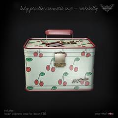 PROMO Lady Peculiar Cosmetic Case Rockabilly