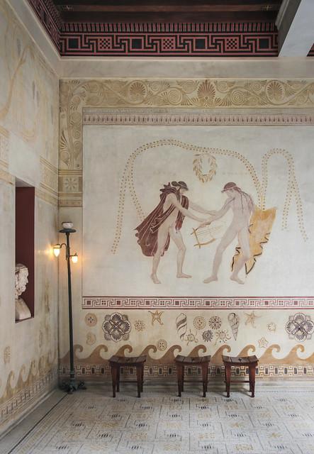 Greek Villa Kérylos, Beaulieu-sur-Mer