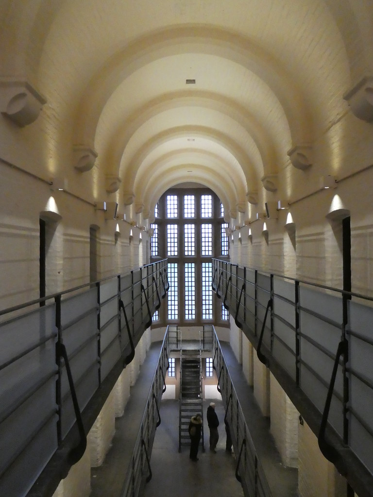 Inside the Victorian prison in Lincoln Castle