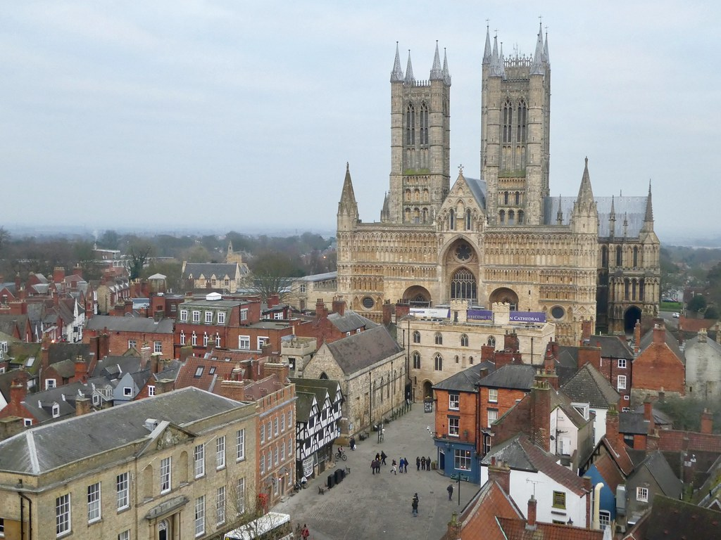 Lincoln Cathedral from Castle walls