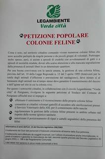 La petizione promossa a Putignano