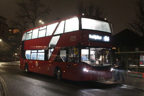 NEW: London United BCE47003 on Route 94, Acton Green