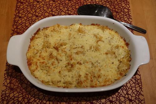 Sauerkraut-Nudel-Käse-Auflauf (von einer Freundin von mir für mich gekocht)